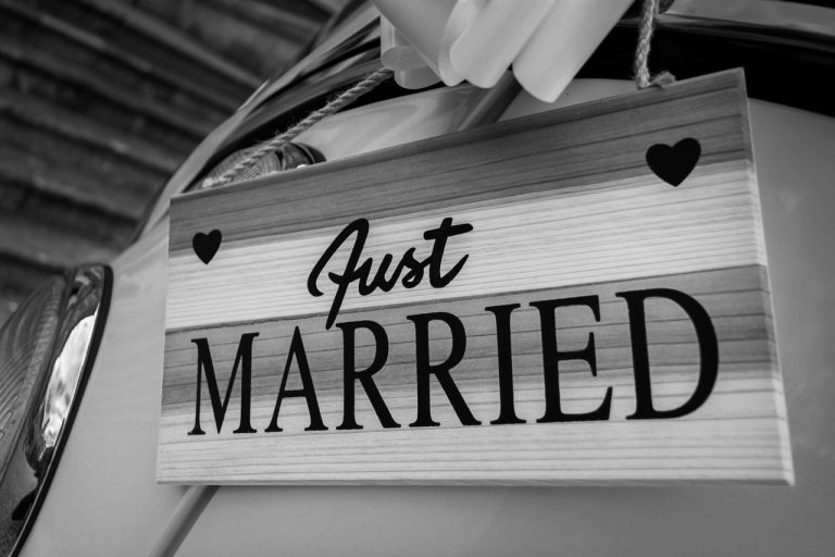 Just Married Image. Add on Services Page