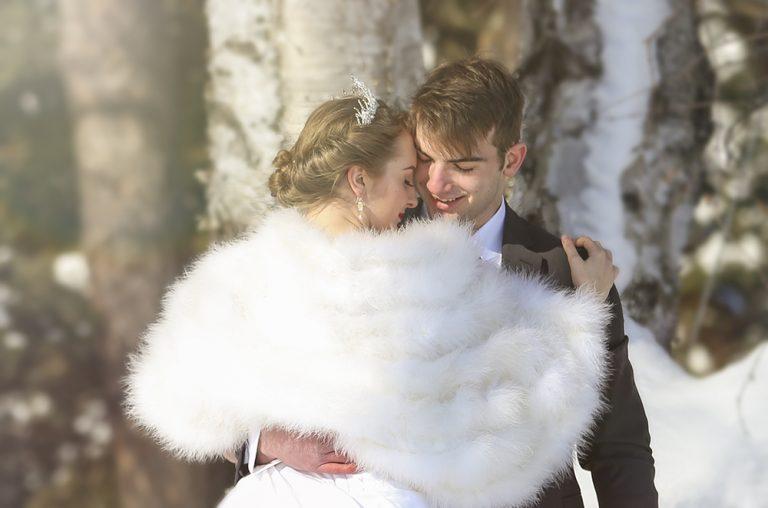 Birch Tree Wedding in Slate River
