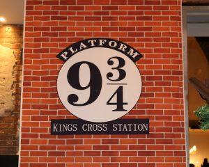 Platform 934 backdrop